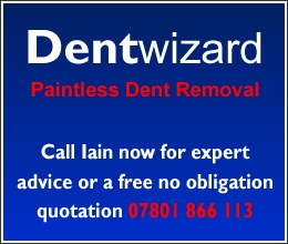 Advert for the Dent Wizard